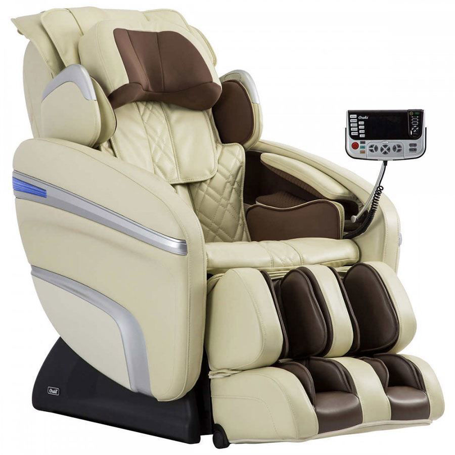 Osaki OS-7200H Pinnacle Massage Chair Cream