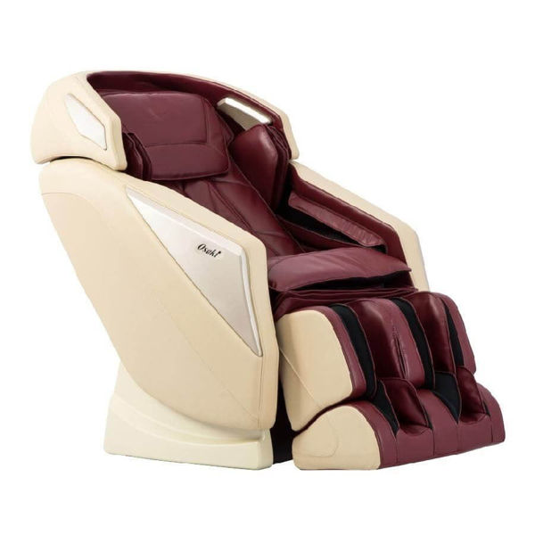 BURGUNDY OMNI MASSAGE CHAIR