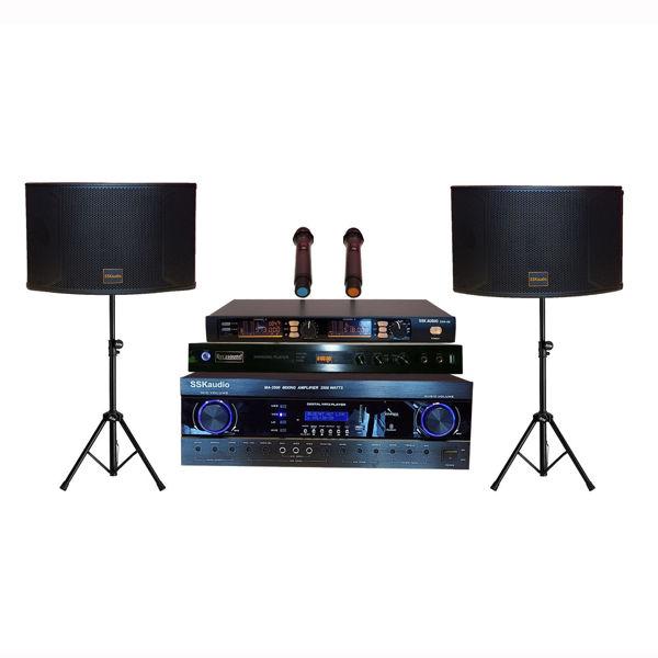 Hình ảnh SSKaudio 2500 Watt Karaoke System Package