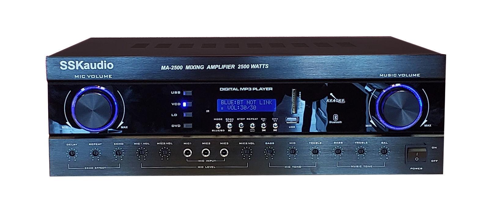 Hình ảnh SSKaudio MA-2500 2500 Watt Mixing Amplifier