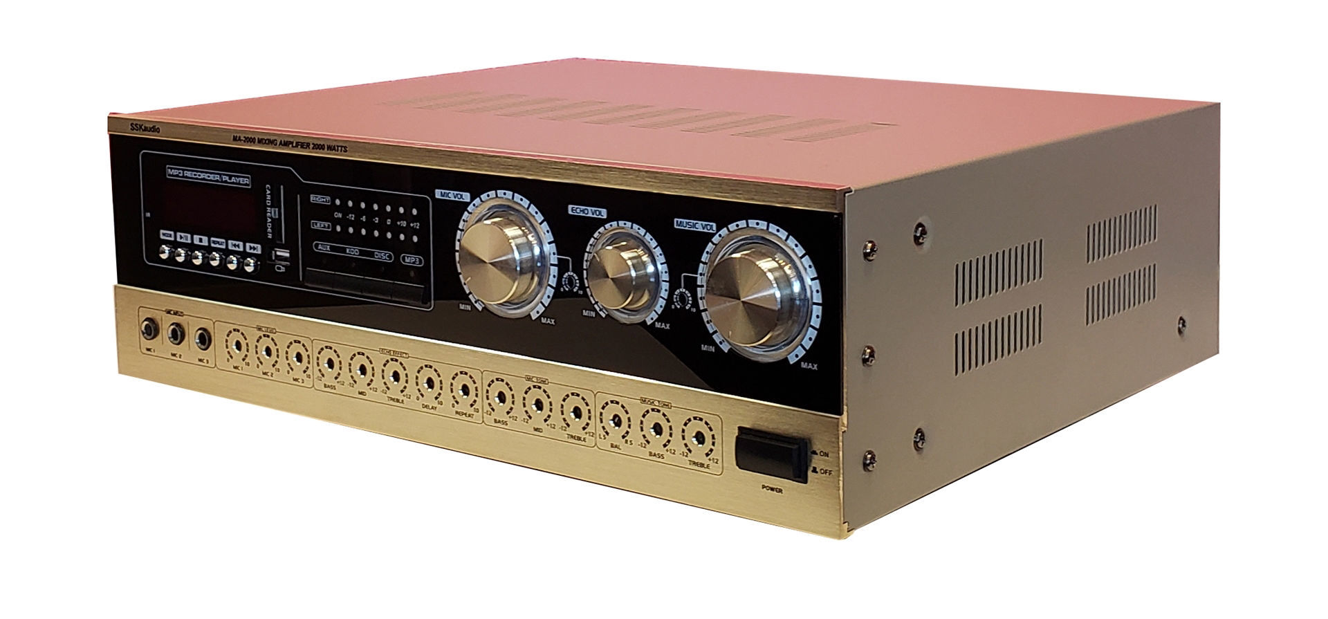 Picture of SSKaudio MA-2000 2000 Watt Mixing Amplifier
