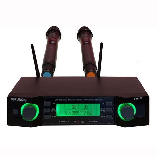 Picture of SSKaudio SSK-58 UHF Wireless Microphone