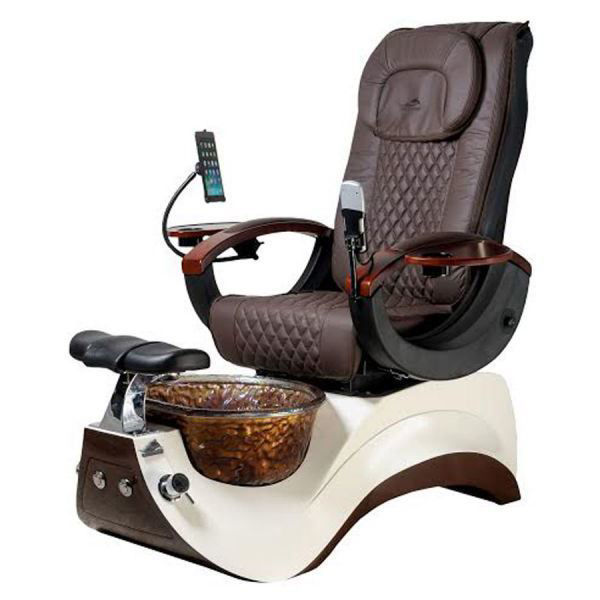 Picture of Alden Crystal Pedicure Chair