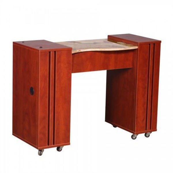 Hình ảnh ADELLE Half Marble Manicure Table