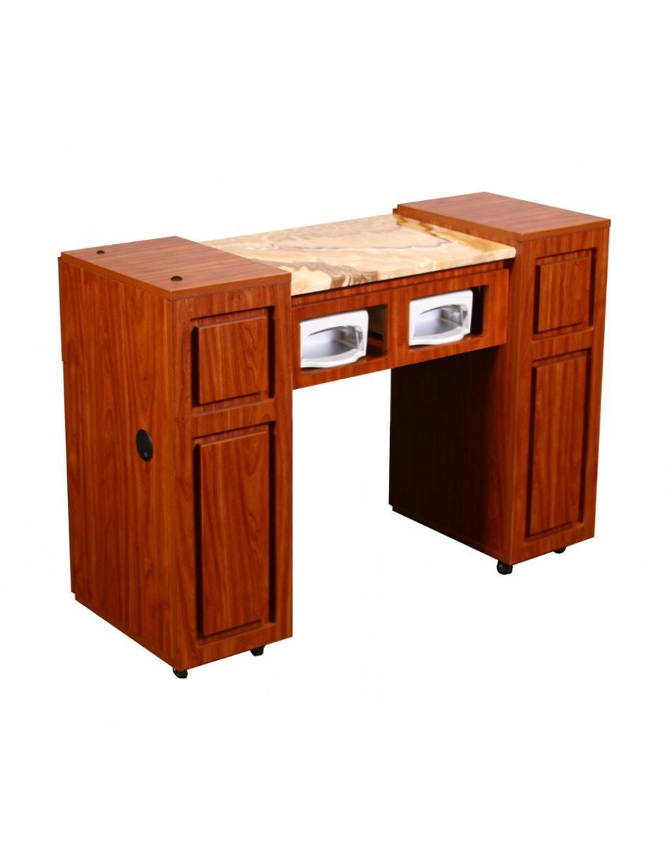 Picture of CANTERBURY Half Marble Manicure Table