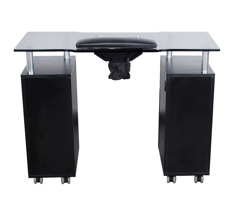 Hình ảnh Glasglow Manicure Table With Fan