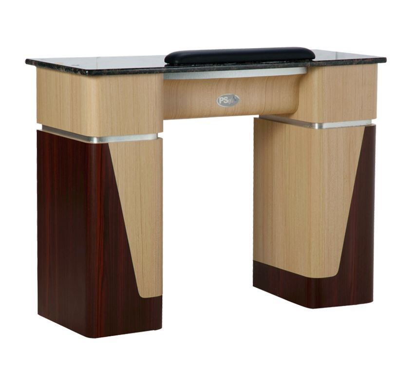 Picture of T06 Ash Rosewood Manicure Table