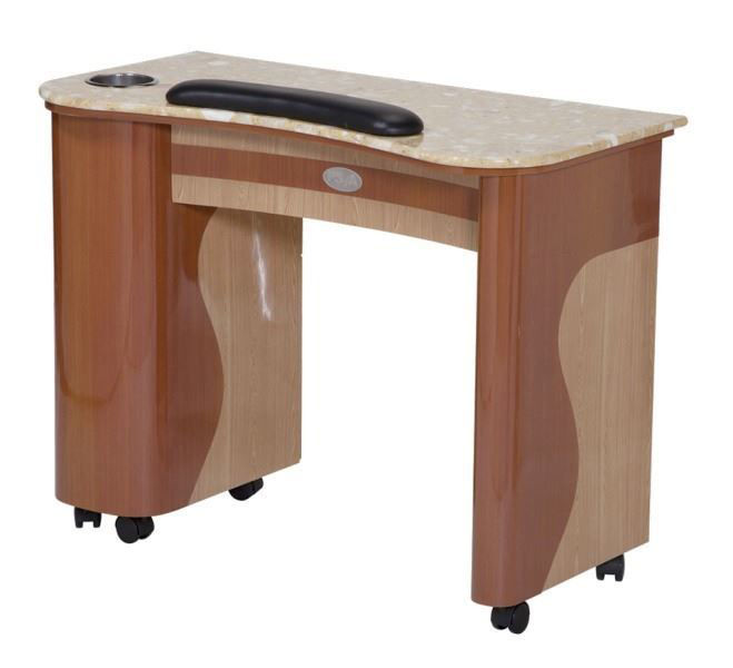 Picture of T101 Maple Oak Manicure Table