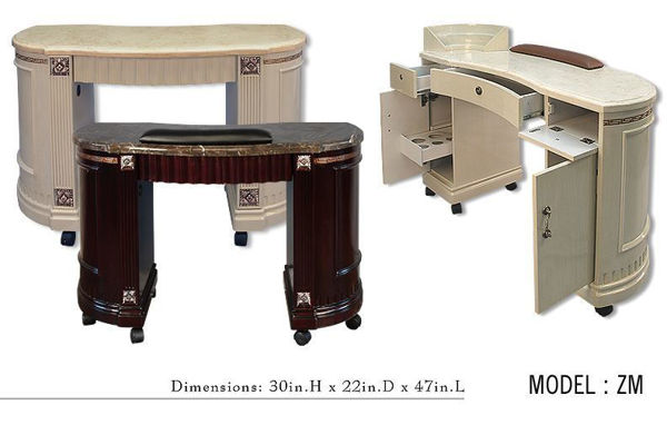 Picture of ZM Manicure Table