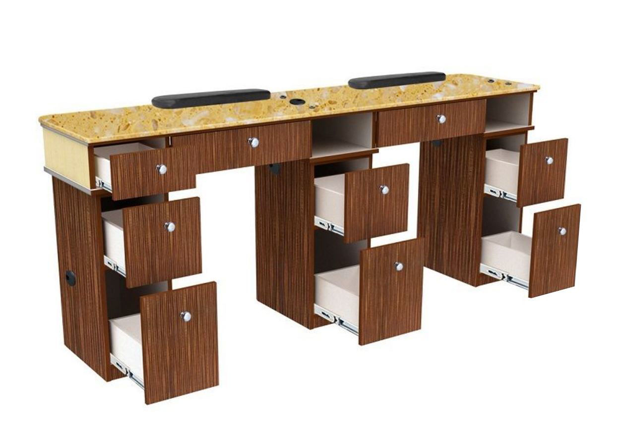 Picture of VERONA Double Manicure Table