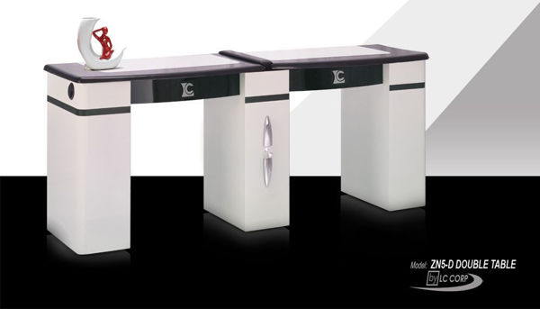 Picture of ZN5D Double Manicure Table