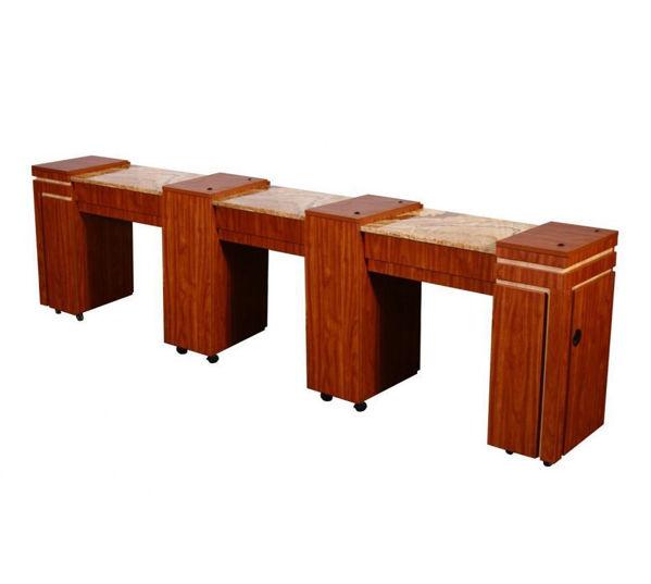 Hình ảnh CARINA Triple Manicure Table