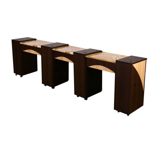 Picture of EDITA Triple Manicure Table