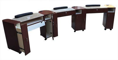 Hình ảnh Triple Manicure Nail Table NT81T