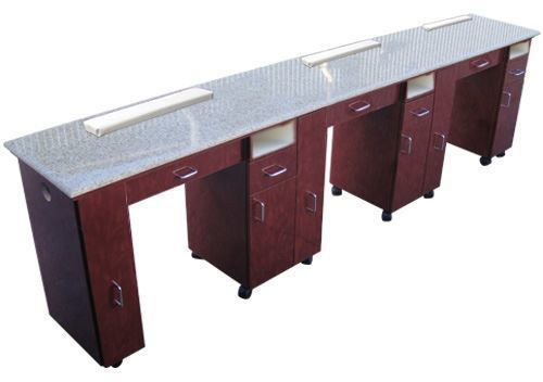 Hình ảnh Triple Manicure Table NT25