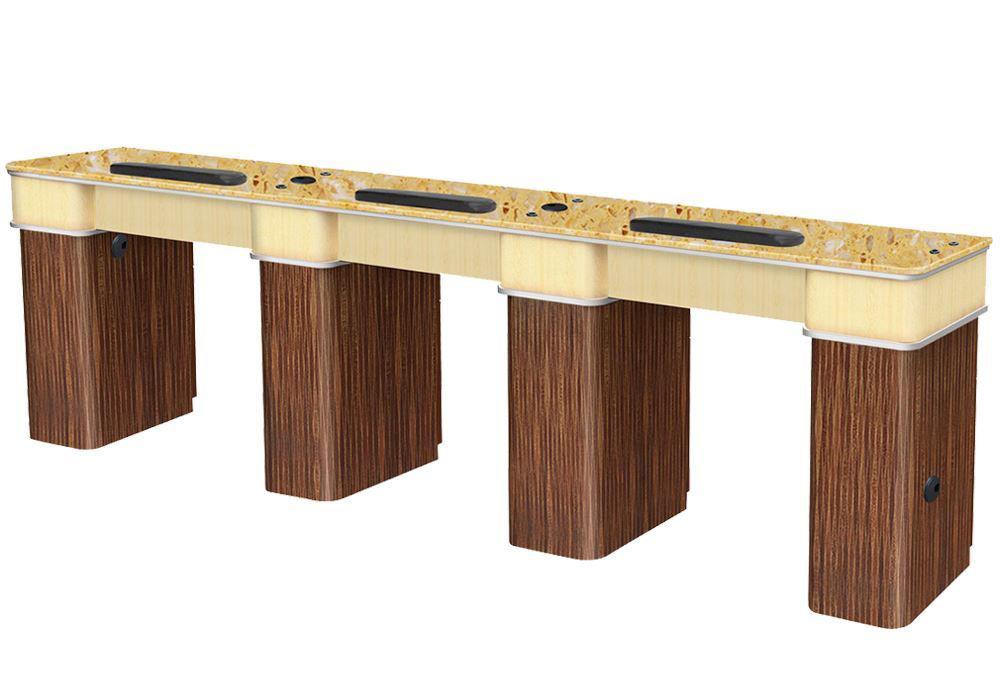 Picture of VERONA Triple Manicure Table