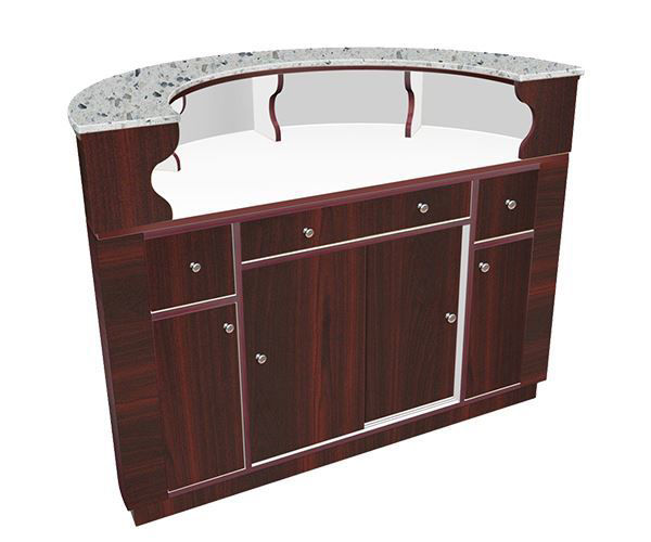 Picture of Avon Round Reception Desk