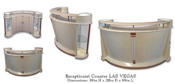 Picture of LAS VEGAS Reception Counter