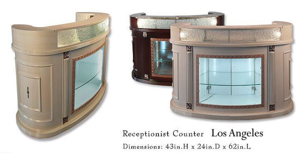 Hình ảnh LOS ANGLES Reception Counter