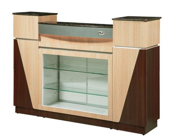 Picture of Reception Desk C06 Ash Rosewood