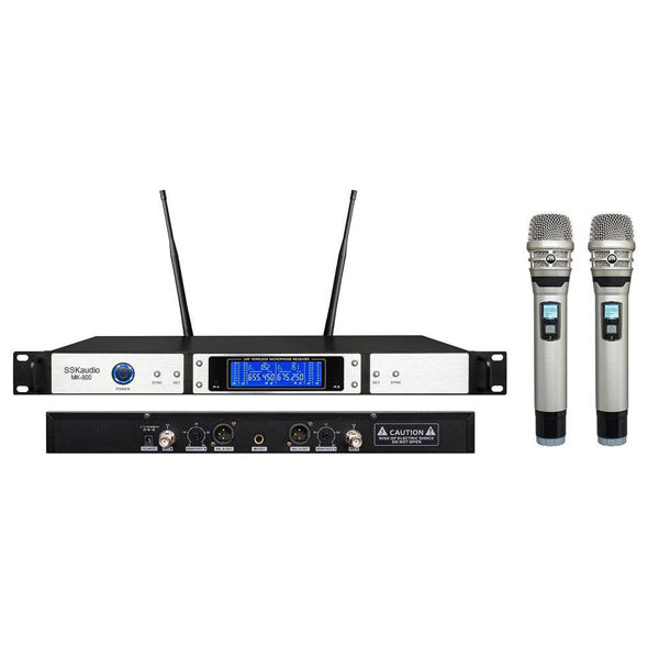 Picture of SSKaudio MK-800 UHF Wireless Microphone