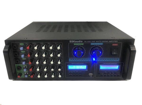 Hình ảnh SSKaudio PA-3000 2500 Watt Mixing Amplifier