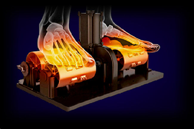 paragon heated foot rollers